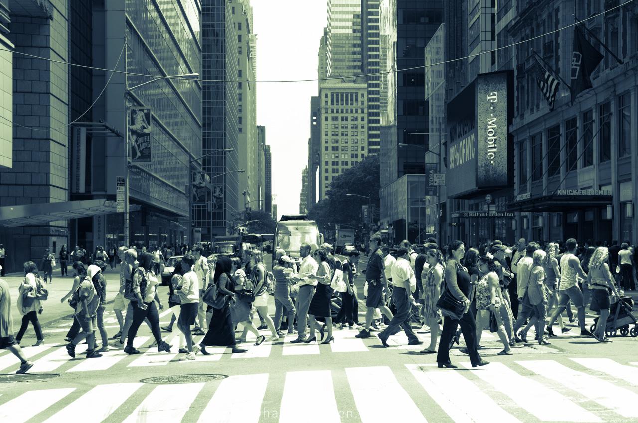 Straatfotografie New York City