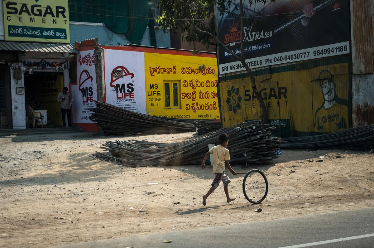 Straatfotografie Hyderabad, India