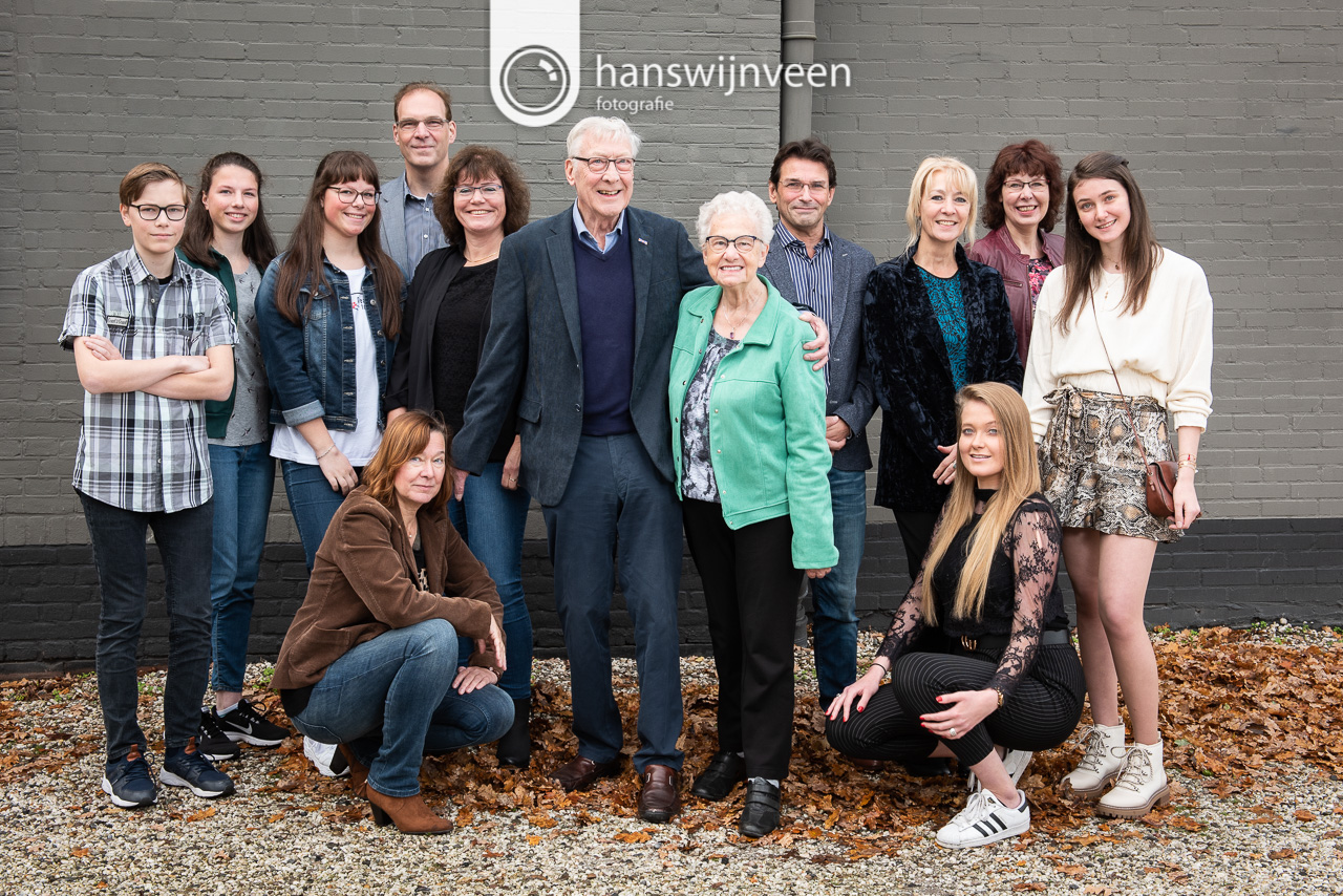 Beveiligd: Fotoshoot familie Van der Woude